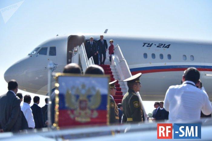 Самолет В. Путина приземлился в ереванском аэропорту «Звартноц»