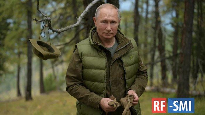 Владимир Путин в свой день рождения отдохнул в тиши таежного леса