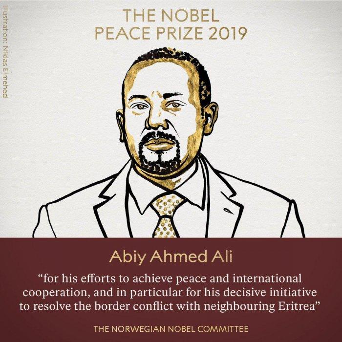 Нобелевскую премию мира-2019 получил эфиопский премьер-министр