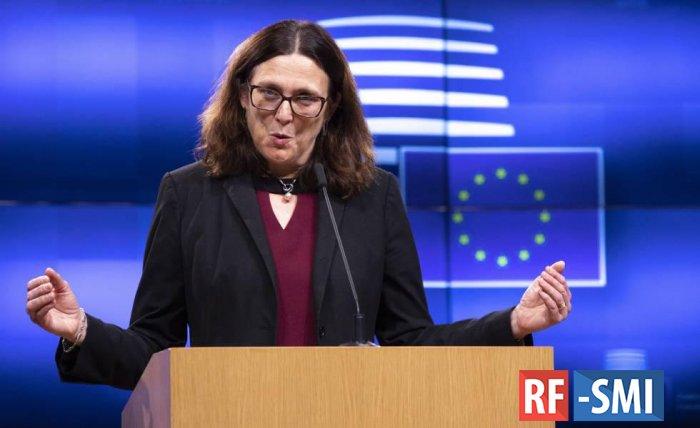 ЕС предупредил США об ущербе от введения пошлин