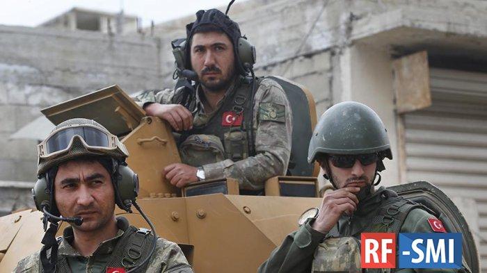 Турция обстреляла базу спецназа США в Сирии