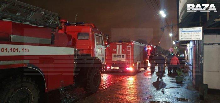 В Подольске неизвестные пока злоумышленники взорвали овощную лавку