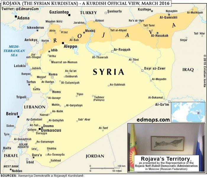 Северная Сирия переживает колоссальные изменения