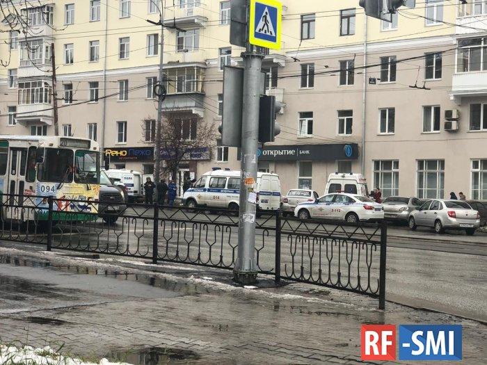 В Екатеринбурге была попытка ограбить отделение банка. Погиб человек