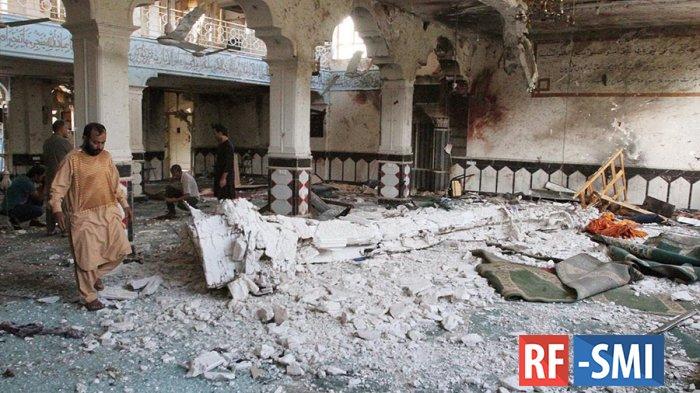 В Афганистане во время пятничной молитвы взорвана мечеть.
