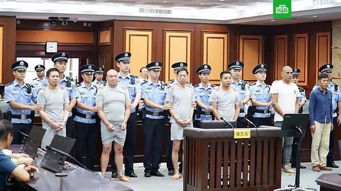 Целая пирамида киллеров выявлена и осуждена в Китае