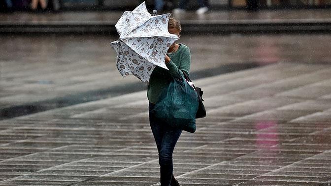 Желтый уровень погодной опасности объявлен в Москве