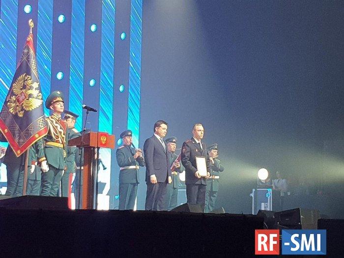 Андрей Воробьев вручил ордена и медали подмосковным полицейским