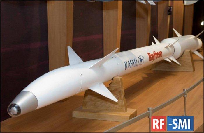 """Россия заполучила секретную израильскую ракету """"Праща Давида"""""""