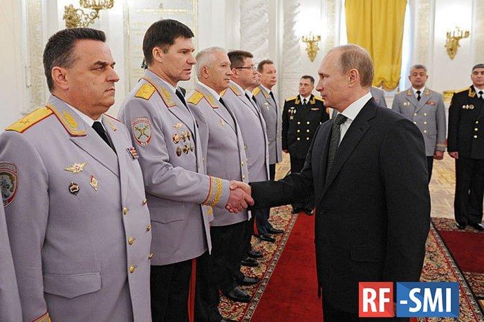 Президент на встрече с генералами поставил задачи силовым ведомствам.