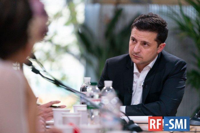 Зеленский заявил о желании усовершенствовать уровень украинского языка