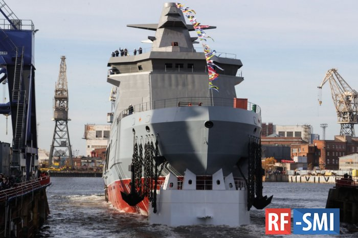 В Дании напуганы новым боевым ледоколом ВМФ РФ