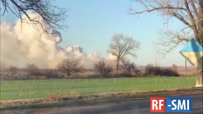 В Балаклее опять взрывы на военных складах