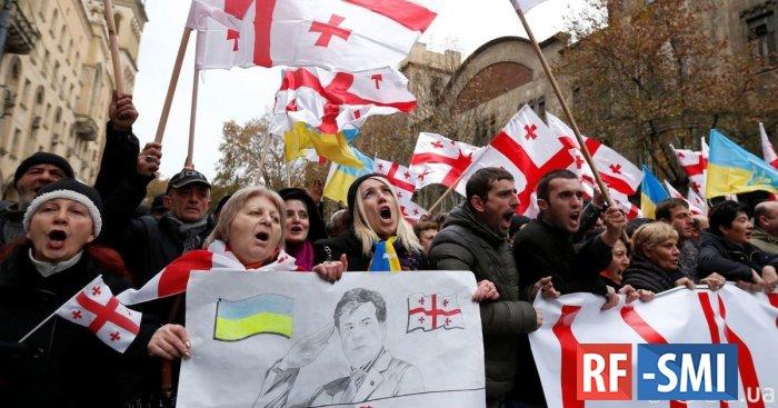 Украинцы присоединились к грузинскому Майдану