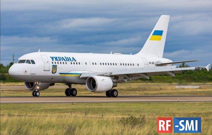 У самолёта Владимира Зеленского отказал двигатель