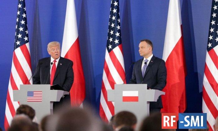 В Варшаве истерят: Трамп сольёт Польшу ради дружбы с РФ
