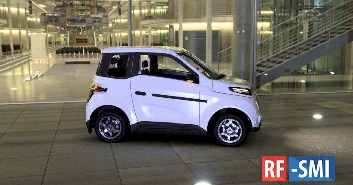 Серийный выпуск российского электромобиля Zetta запустят в конце 2020 года