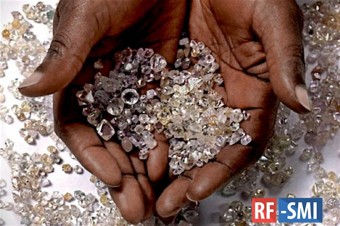 В обмен на алмазы Россия предоставит Зимбабве нефтепродукты