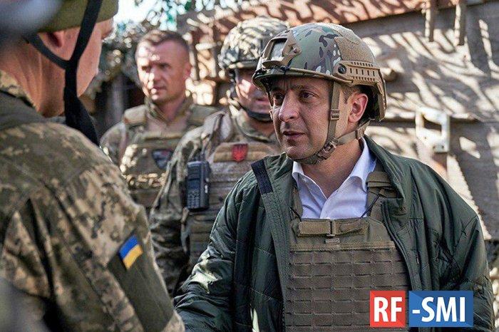 Владимир Зеленский изменил воинские звания