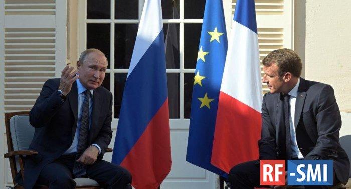 Союз России и Франции выдавит США из Европы