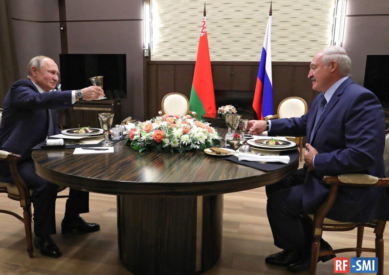Детали прошедших переговоров Владимира Путина и Александра Лукашенко
