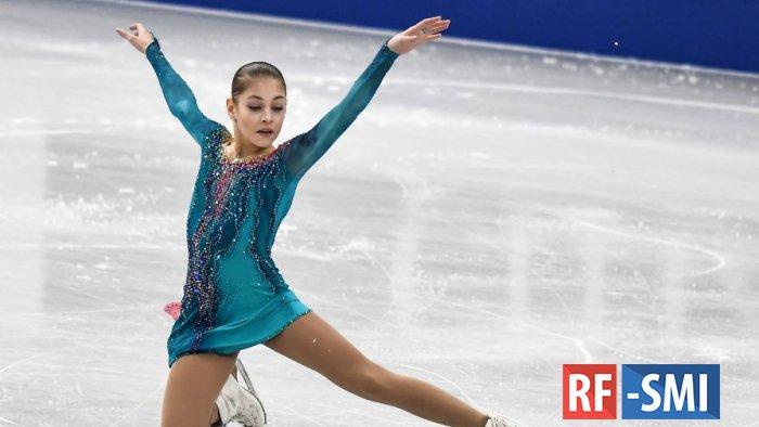 Российская фигуристка Алёна Косторная побила мировой рекорд