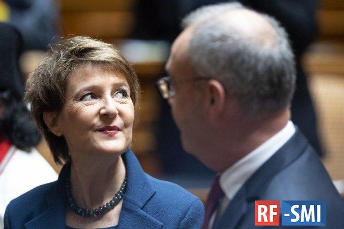 В Швейцарии выбрали президента и вице-президента