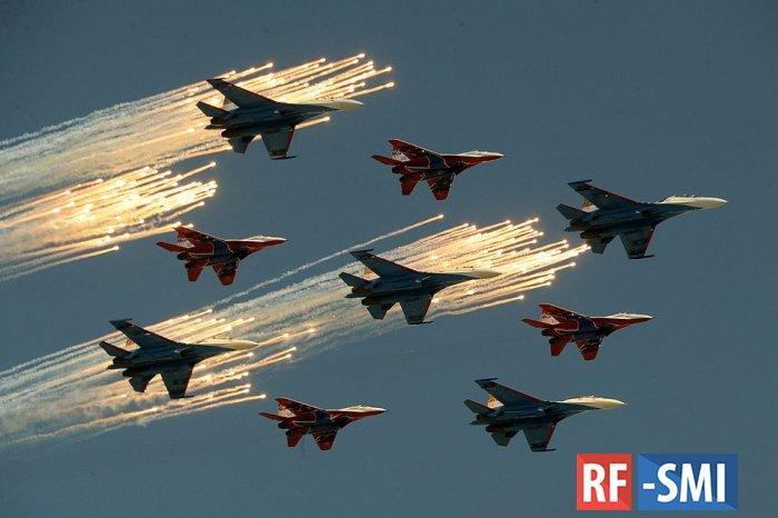Россия вошла в тройку  сильнейших ВВС планеты