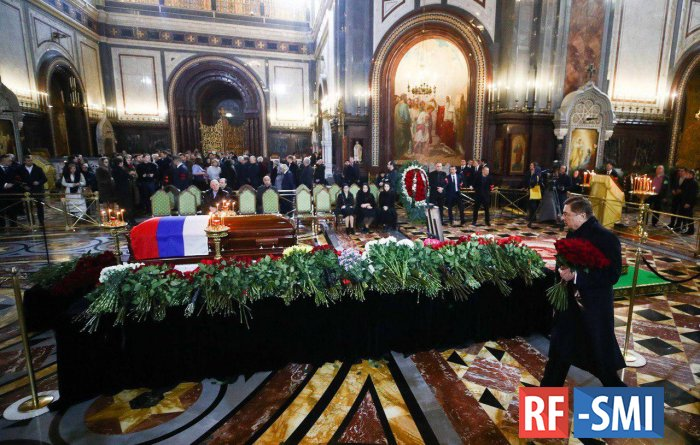 В Москве началась церемония прощания с Юрием Лужковым