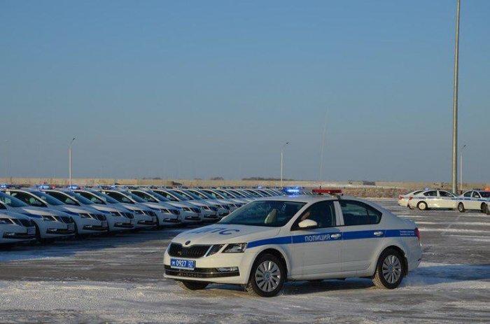 Хабаровские сотрудники ДПС получили 75 новых служебных автомобилей Шкода