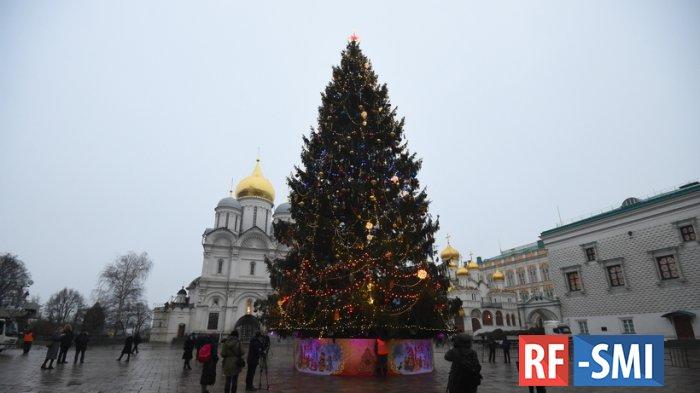 У кого выше новогодняя елка в СНГ?