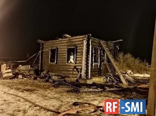 В Ярославской области трое детей погибли при пожаре.