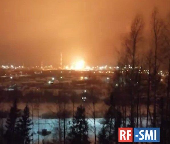 В Ухте прогремел взрыв на нефтеперерабатывающем заводе