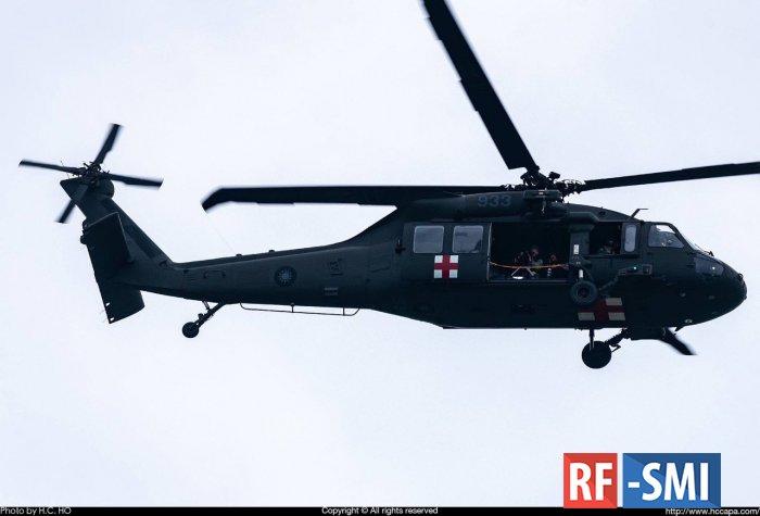 В результате авиакрушения пропал начальник генерального штаба Тайваня