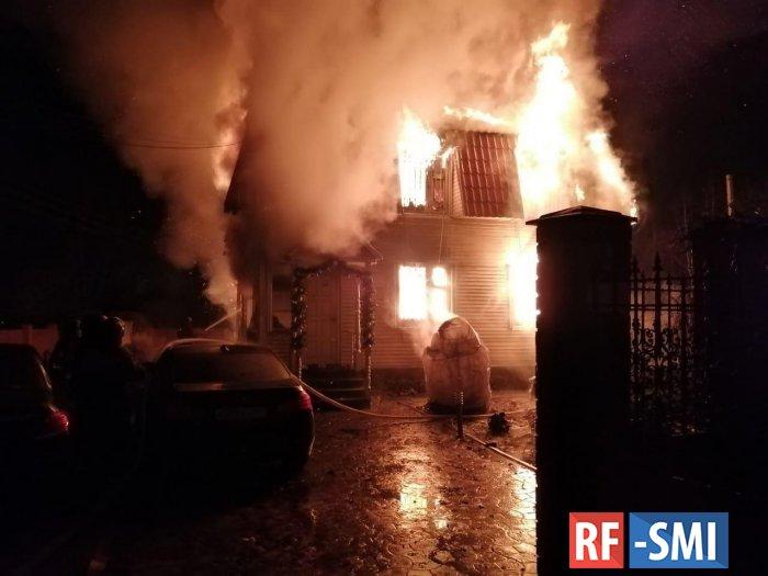 Странный пожар с жертвами произошел ночью в Подольске