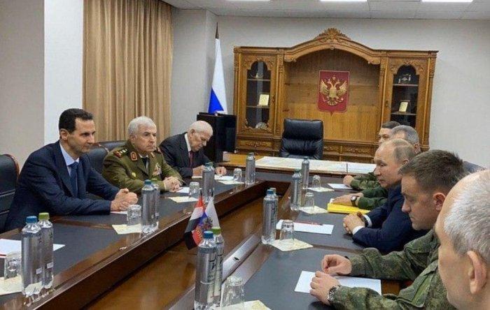 Путин проинформировал Асада о достигнутых договоренностях с Эрдоганом