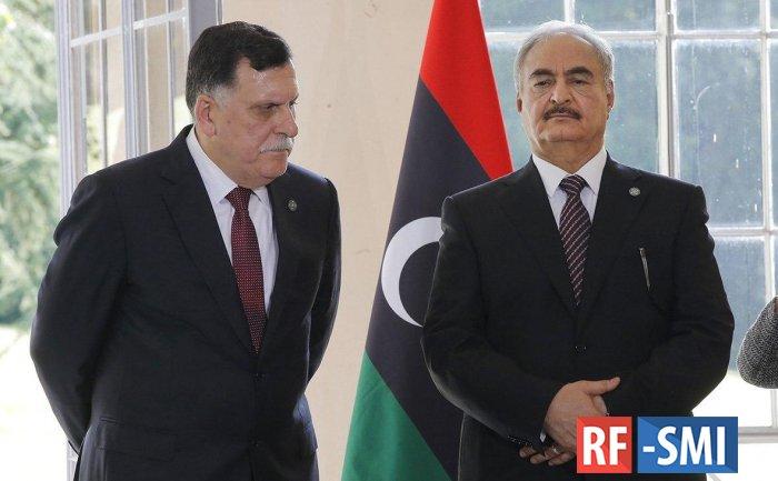 МИД России подтвердил проведение в Москве встречи Сарраджа и Хафтара