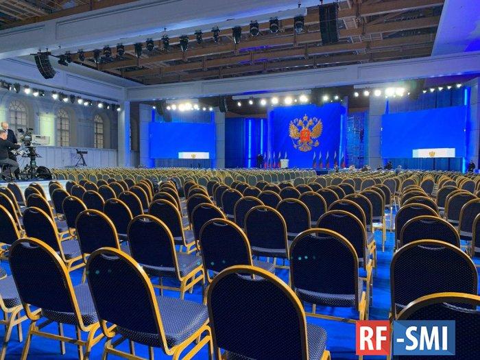 В 12.00 Владимир Путин назовёт приоритеты развития России в 2020 году