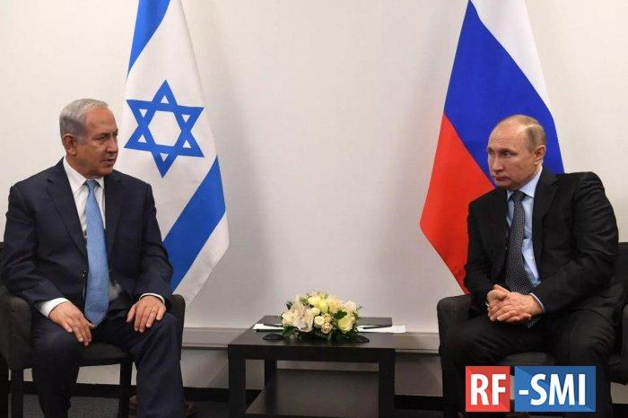 Нетаньяху провел телефонную беседу с Путиным
