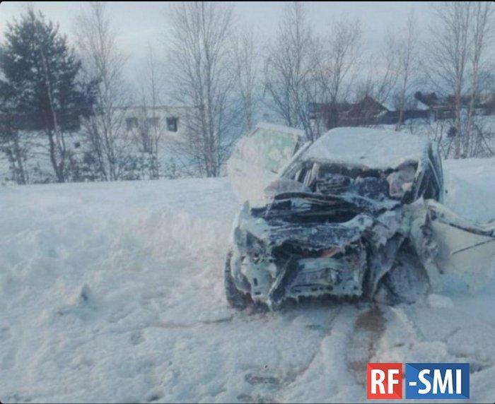 На трассе Сургут – Салехард в ДТП погибли сотрудники полиции