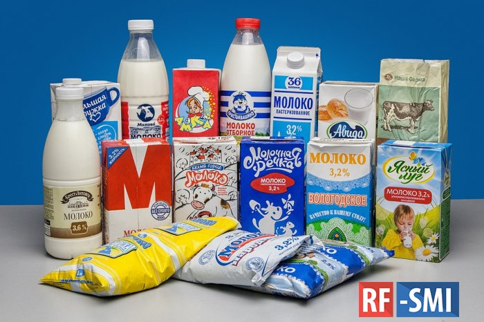 Главный покупатель российской молочки - Украина
