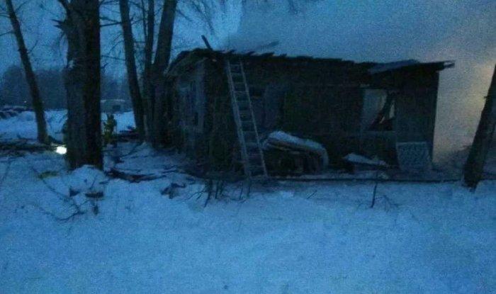 В результате пожара в Томской области погибло 11 человек