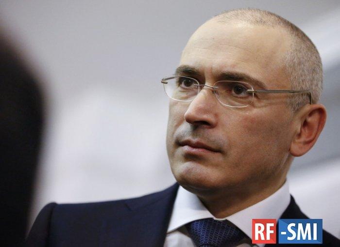 Ходорковский вернется в страну и ответит за преступления