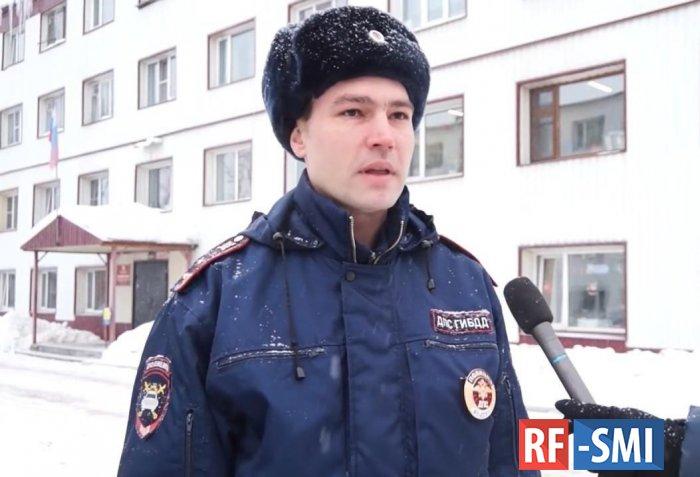Камчатские полицейские спасли людей при пожаре в общежитии
