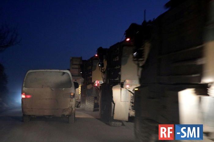 Турецкая армия начала покидать позиции на северо-востоке Сирии