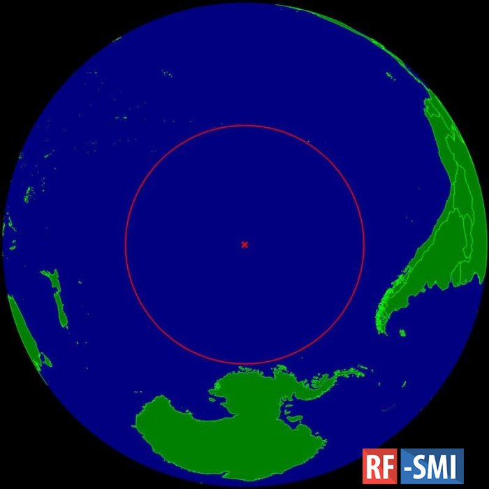 Точка Немо — океанический полюс недоступности