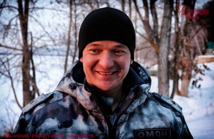 Сотрудник Росгвардии спас тонущего человека в Самарской области