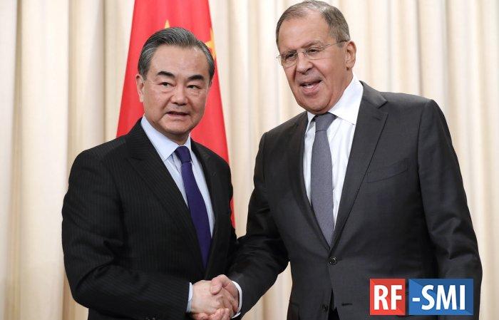 МИД РФ констатировал высокую степень совпадения оценок Москвы и Пекина