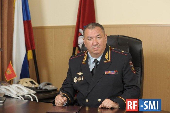 Замначальника ГУМВД по Москве генерал Плахих ушел на пенсию