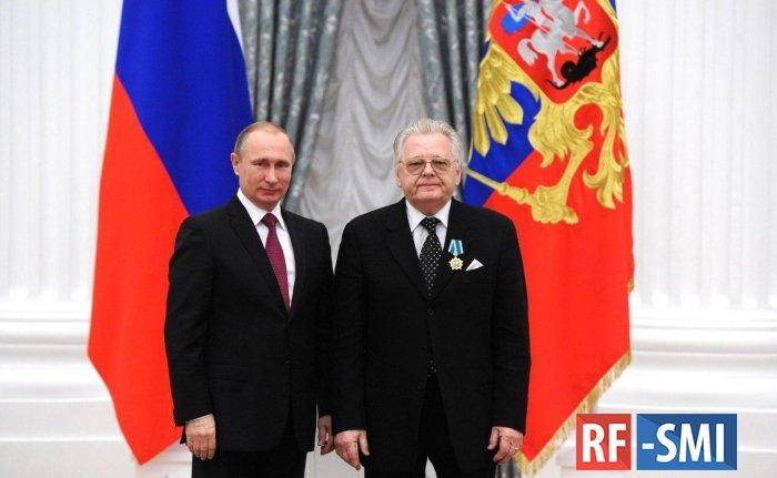 Владимир  Путин поздравил певца Юрия Антонова с 75-летием
